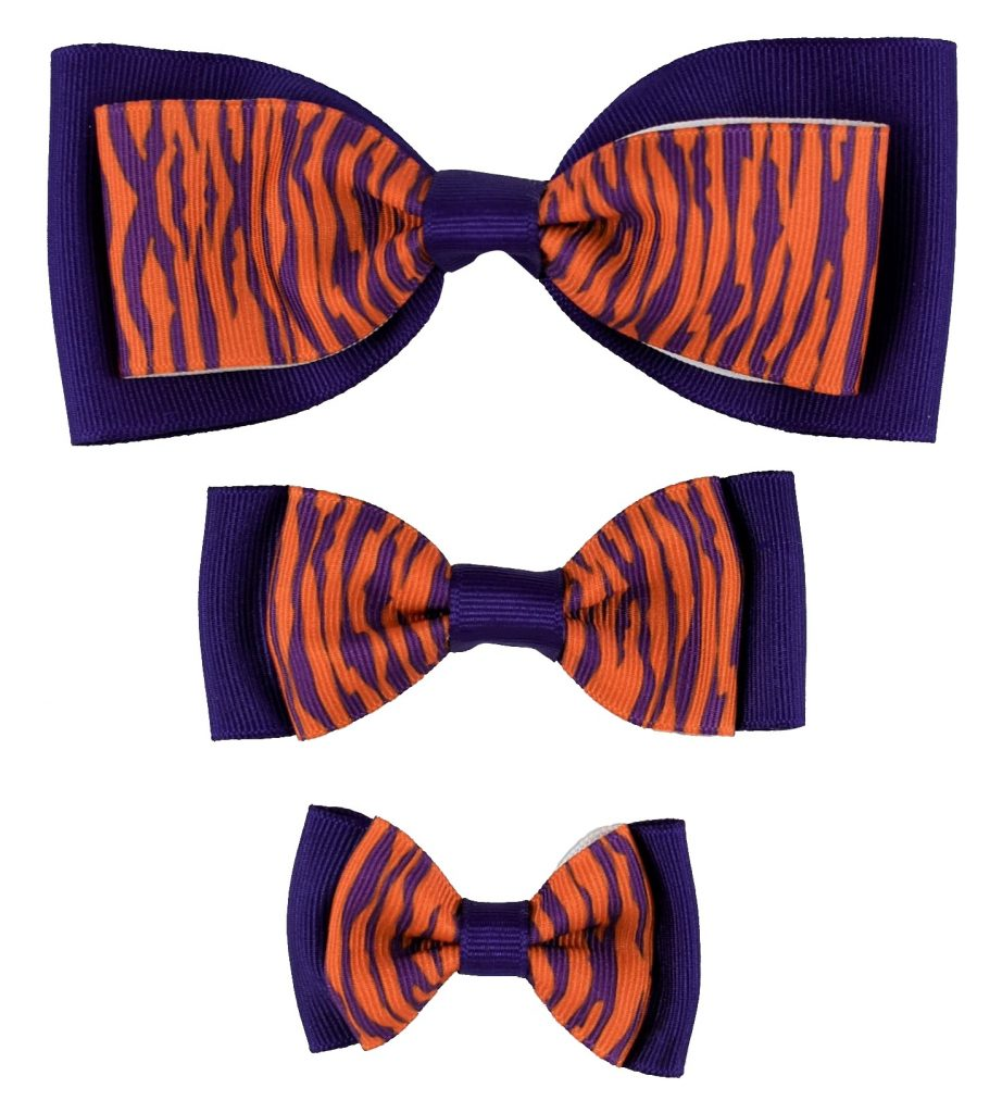 Dog Bow Trio Tiger